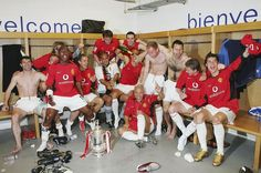 No league title in 2004 but Man United did win the 2004 FA Cup, in Cristiano Ronaldo's first season with the club.