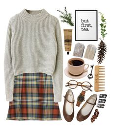 First Snow by throwmeadream on Polyvore featuring Vivienne Westwood Anglomania, Tom Ford, Clips, The Body Shop, Aesop, Pier 1 Imports, Vernissage, women's clothing, women's fashion and women