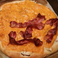Focaccia Con Cheddar E Smiling Bacon @ Gens Germana Feritate Ferocior Domus