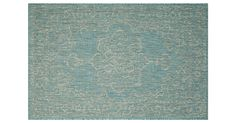 Featuring a vintage-inspired design and captivating color palette, this outdoor rug is made of enhanced polypropylene, a material known to hold up to the elements and withstand wear and tear....