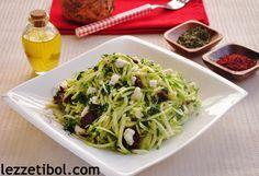 Peynirli Kabak Salatası | Lezzetibol