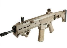 Magpul PTS ACR Folding Stock GBB. weighs the same and good for practice without expensive ammo