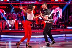 SCD week 2, 2016. Will Young & Karen Clifton. Jive. Credit: BBC / Guy Levy