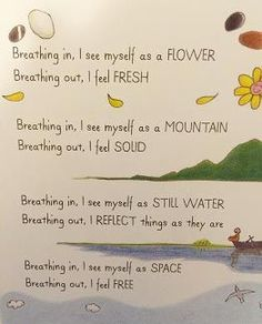 I came across a book on my shelf the other week that I have come to love. It's called A Handful of Quiet: Happiness in Four Pebblesby Nhat Hanh. Inside the pages of this charming little book, I found a fewinspiring ideas for teaching children about meditation and deep breathing, while keeping it simple and …