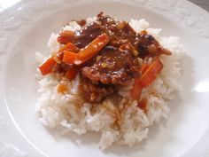 If you like sweet, spicy, crispy Chinese food- this is for you. Adapted from a recipe I saw on Fixing Dinner with Sandi Richard.