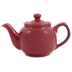 Amsterdam 2 Cup Teapot - Burgundy