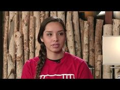 """Water is Life, Water is Sacred"": Standing Rock's Bobbi Jean Three Legs Speaks Out Against Trump - YouTube"