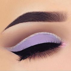 A Queen's Guide to Pageant Makeup A Queen's Guide to Pageant Makeup,Make Up Related posts:Amazing Blonde Hair And Colorful Eye Makeup - Miladies Net ~ erstaunl. - Silver Eye Makeup Looks You. Silver Eye Makeup, Purple Eye Makeup, Glitter Eye Makeup, Eyeshadow Makeup, Eyeshadows, Eyeshadow Palette, Purple Makeup Looks, Silver Eyeliner, Apply Eyeliner