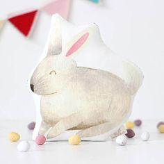 The Fox in the Attic White Easter Bunny Soft Toy Easter Toys, Easter Bunny, Bunny Toys, Easter Baskets, Creative Business, Attic, Dinosaur Stuffed Animal, Illustration, Prints