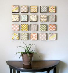 Wall art idea
