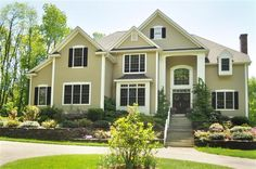 Gorgeous 4,090 Square Foot Colonial on 8.35 Private Acres! 5 Bedrooms; 3.1 Baths; 2 Story Open Foyer; Open & Bright Floor Plan, Living Room w/ Hardwood, Formal Dining Room w/ Shadow Box & Crown Molding, Kitchen w/ Granite Countertops, Cherry Cabinets, Island w/ Breakfast Bar, Double Oven, Pantry & Breakfast Nook w/ French Door to Deck; Kitchen opens to Family Room w/ Gas Fireplace.  Double Level Trex Deck, Beautifully Landscaped grounds!