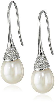 Bella Pearl Cubic Zirconia Dangling Pearl Drop Earrings Bella Pearl http://www.amazon.com/dp/B00U0UXPL6/ref=cm_sw_r_pi_dp_OpbIvb1DKGQSS