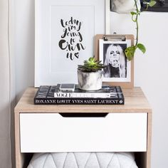 Mocka Jesse Bedside Cabinet | Styled by Tarina Lyell