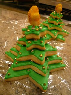 Creative Confectionery Blog: Sugar Cookie Christmas cookies