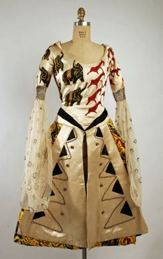 A 1919 fancy dress costume by legendary Ballets Russes costume designer Léon Bakst.