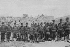 Yemen'de Osmanlı askerleri.