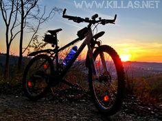 #Mountainbike #Danzturm #Stadtwald #Iserlohn #Sonnenuntergang #Wald