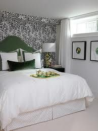 "Gorgeous basement guest bedroom from ""Sarah's House"", HGTV."