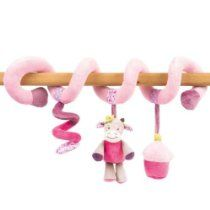 Picture of (Nattou) Soft Baby Cot Toy Spiral (Pink) - Manon & Alizee Collection Trendy Baby Boy Names, New Baby Names, Baby Activity Toys, Infant Activities, Baby Cot Toys, First Birthday Presents, Dou Dou, Baby Girl Nursery Themes, Baby Boy Pictures