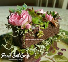 Floral Soil Botanical Cake Slices™  100% Natural by FloralSoil