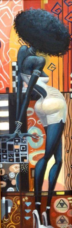Frank Morrison Art #Painting #FrankMorrison