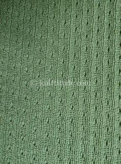 Tuck Rib Machine Knitting Pattern