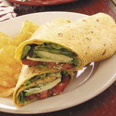 Avocado Tomato Wraps Recipe  time 2 eat
