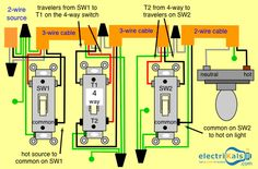 In this Basic 4 Way Light Circuit and 4 Way Switch Wiring Diagrams #1WaySwitch #2WaySwitch #Cables #Lights #OnlineShopping #electrikals Commend #MakeinIndia