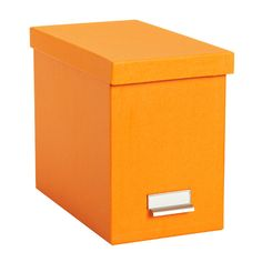 Bigso™ Stockholm Desktop File Orange