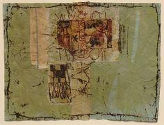 Hannelore Baron, Untitled (C82 210), 1982 Mixed Media Collage, via: http://www.artnet.com