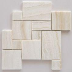Premium White Onyx VEIN-CUT OPUS Mini Pattern Polished Mosaic Tile - SAMPLE Oracle Tile & Stone http://www.amazon.com/dp/B00HIBPQ44/ref=cm_sw_r_pi_dp_RnK.ub17T2R68