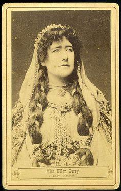 Miss Ellen Terry as Lady Macbeth (carte de visite) by Toronto Public Library Special Collections, via Flickr