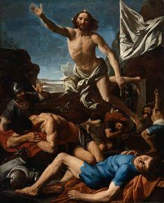 Simone Cantarini (1612-1648): Resurrección de Cristo.