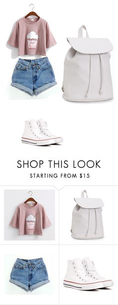 """""""Untitled #456"""" by deamolla on Polyvore featuring Aéropostale, Levi's and Converse"""