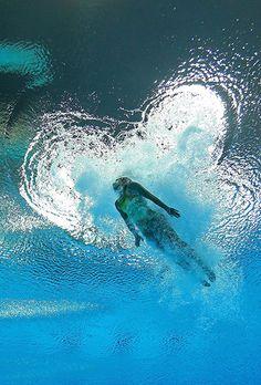 Christina Loukas Springboard Diving heart at London 2012