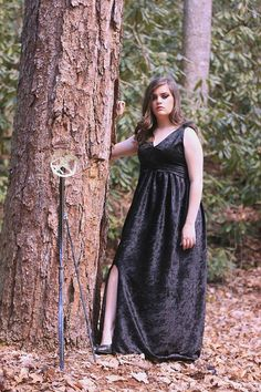 "This is a dress I made for a Mocking Jay inspired shoot. It was a lot of fun to make. Introducing the ""Arrow Girl Dress"""