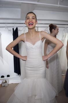 """Amsale Fall 2014 - """"Sawyer"""" #amsale #wedding #bridal #nitsas"""