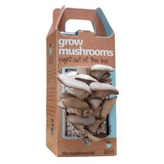 MUSHROOM KIT | Oyster Mushroom Garden Grow Box | UncommonGoods