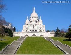 Sacré Coeur in Paris in Frankreich