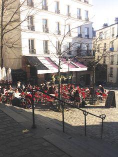 Monmartre, Paris - 16th December 2013
