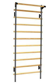 "36"" Wide Adjustable Stall Bars / Swedish Bars (With Chin-Up Bar)"