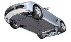 Porsche Boxster / cayman - the underside