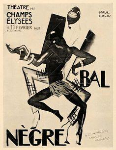 vintage 1920's poster