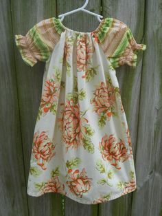 Heather Bailey Painted Mums Peasant Dress!