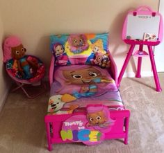 Nickelodeon Bubble Guppies Toddler Bed