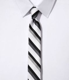 Shop for Skinny Silk Tie - Stripe by Express at ShopStyle. Silk Ties, Interview, Skinny, Outfits, Fashion, Moda, Suits, Lean Body, Fashion Styles