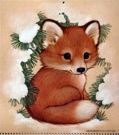 SWEET CUTE LITTLE FOX