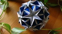 Origami ✿ Revealed Flower ✿ ( PopUp Star) - YouTube