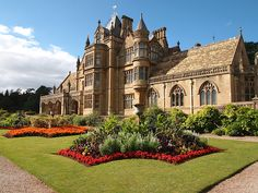 Tyntesfield, North Somerset - The Garden Front