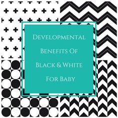 Developmental Benefits Of Black And White For Babies Black And White Theme, Nursery Decor, Benefit, Parents, Rooms, Kid, Babies, Personalized Items, Space